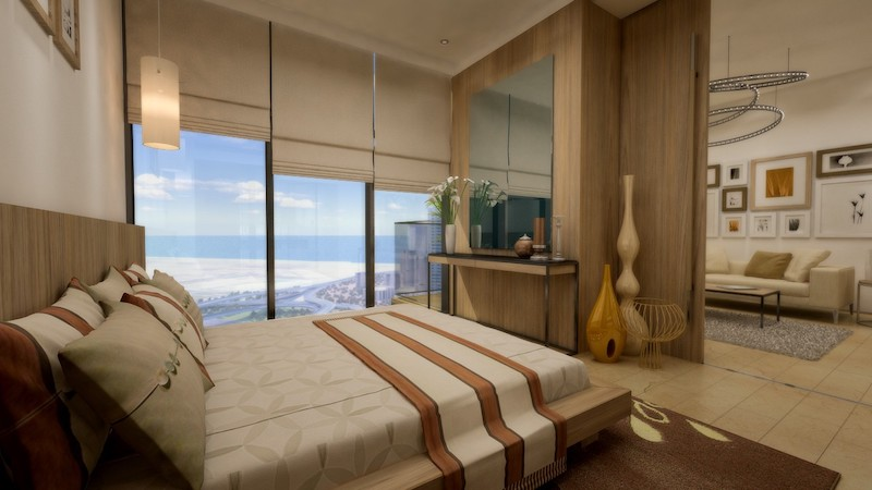 Ideal 1 BR Apartment in MBL Residences