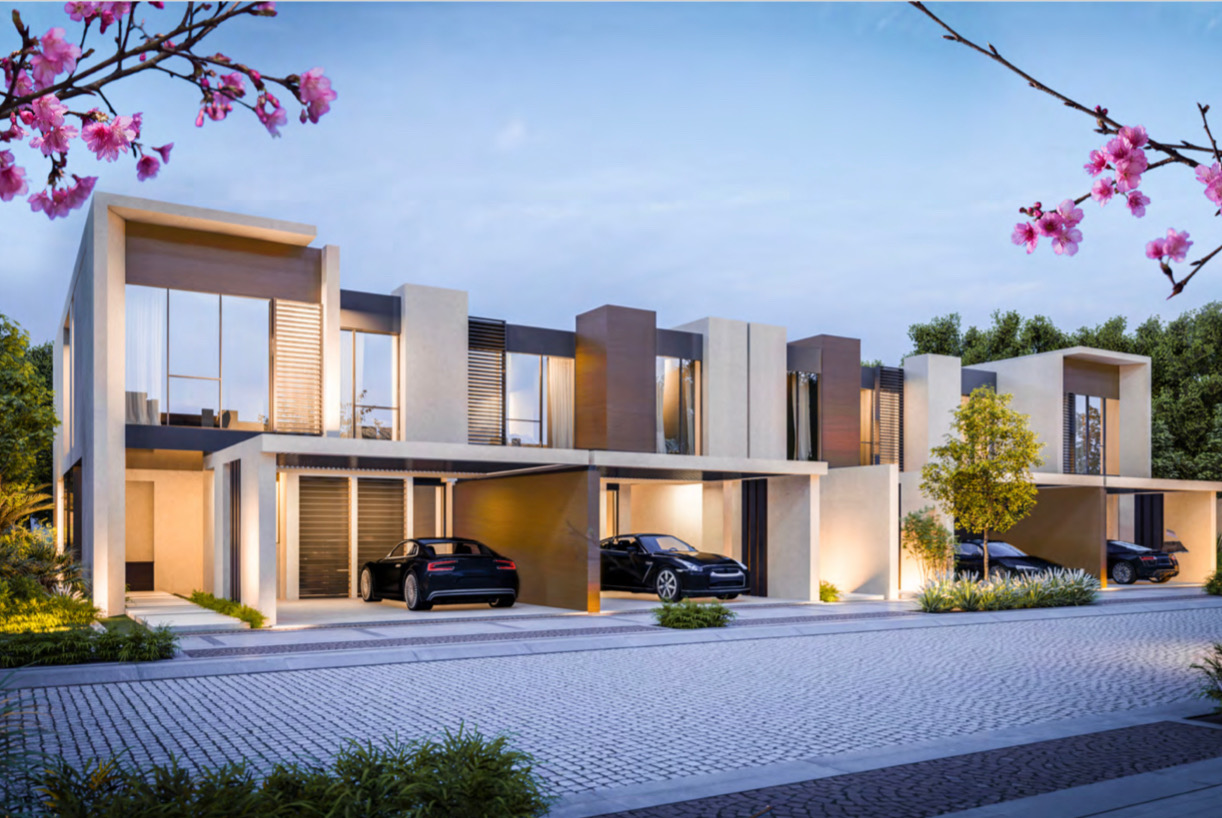 Luxury 3 BR & 4 BR Cherrywoods Townhouses