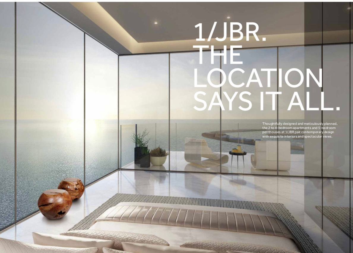 Amazing Luxury 3 BR Apartment in One JBR