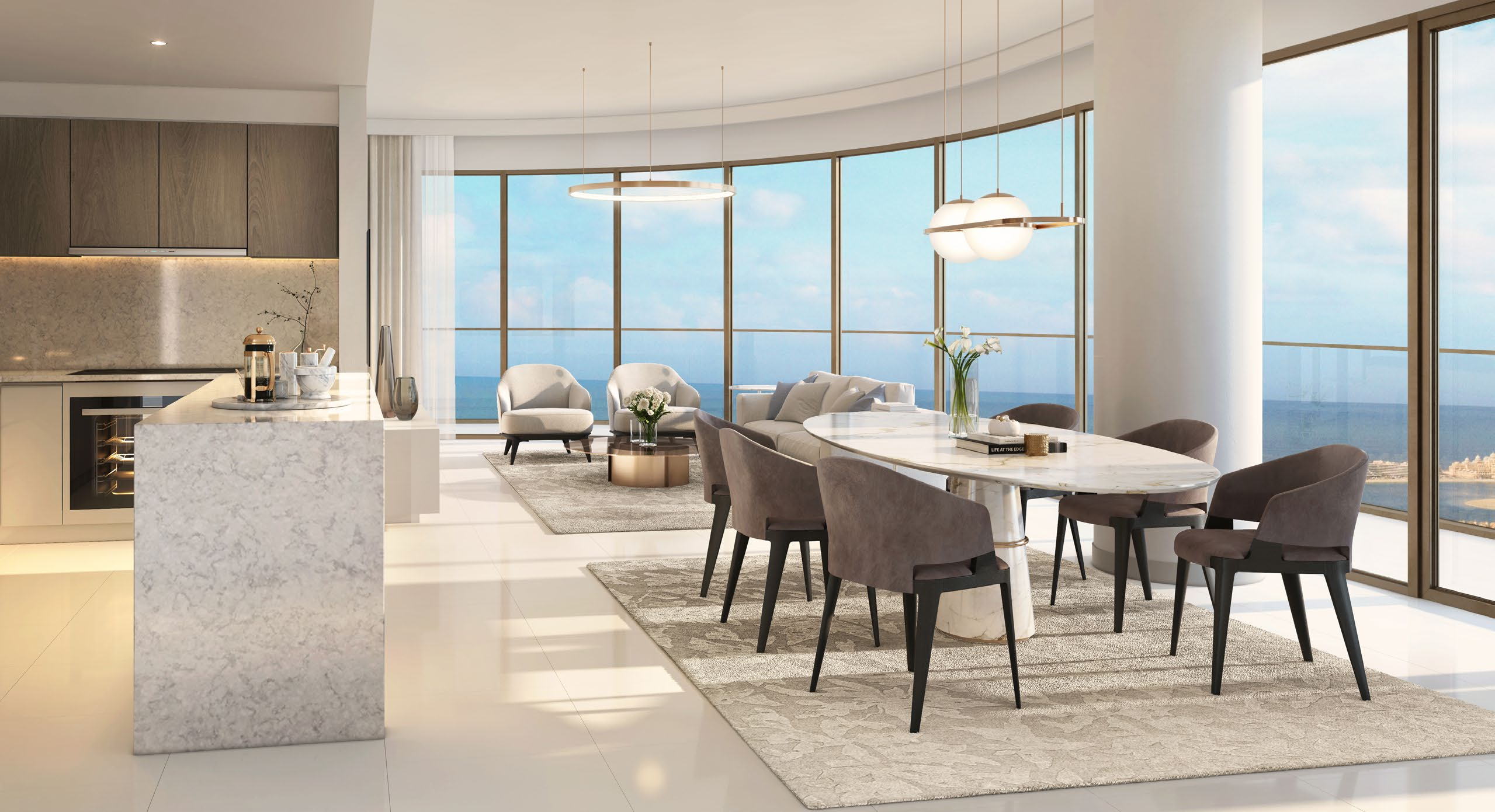 "4 BR apartment in ""Elie Saab"", EMAAR Beachfront"