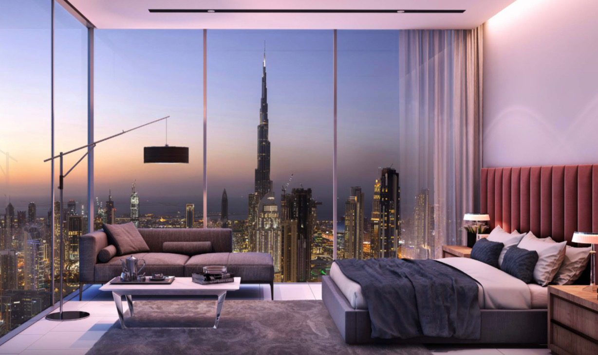 Extraordinary 2 BR Duplex Apartment in High Luxury SLS Dubai Residences